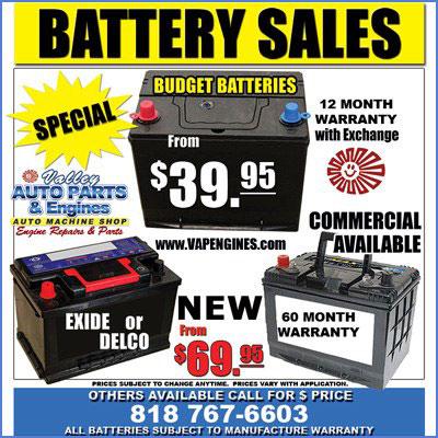 car automotive battery on a budget