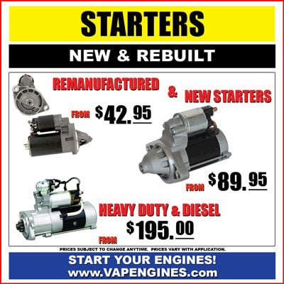 Car electrical starter