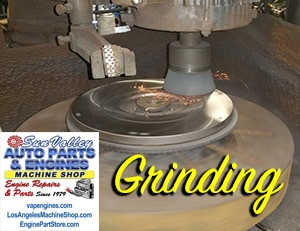 Grinding service at machine shop