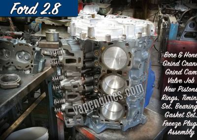 Ford 2.8 Engine Rebuild Machine Shop