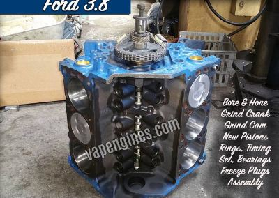 Ford 3.8 Engine Rebuild Machine Shop