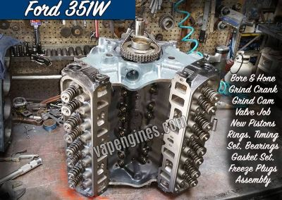 Ford 351W Engine Rebuild Machine Shop