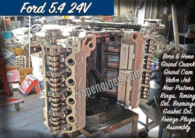 Ford 5.4 24v Engine Rebuild Machine Shop
