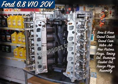 Ford 6.8 V10 Engine Rebuild Machine Shop