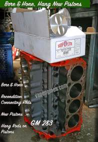 GM 283 Bore and Hone Machine Services