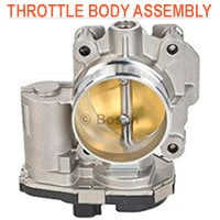 throttle body units for auto fuel delivery