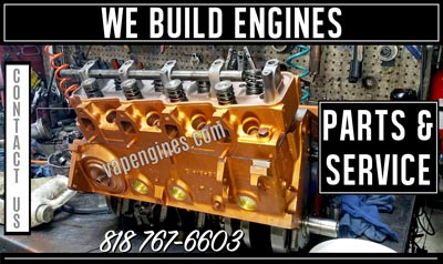 Engine Builder and Auto Parts Store in Los Angeles