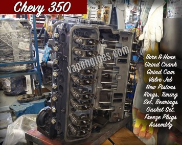 Chevy 350 Engine Rebuild and Repair Shop