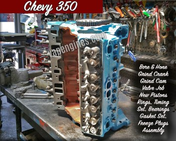 Chevy 350 Engine Rebuilding