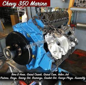 Chevy 350 Marine Engine Rebuild Machine Shop