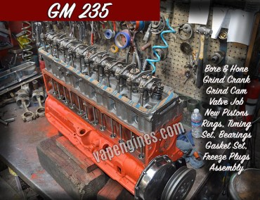 GM 235 Engine Rebuild Machine Shop