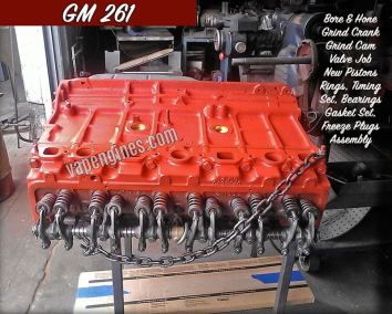GM 261 Engine Rebuilding Shop