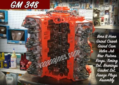 GM 348 Engine Rebuilding Shop