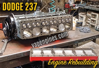 Dodge 237 Engine Rebuild