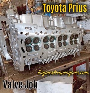 Valve Job Machine Shop for Toyota