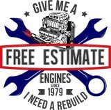Need and estimate on engine rebuild cost- Free estimate