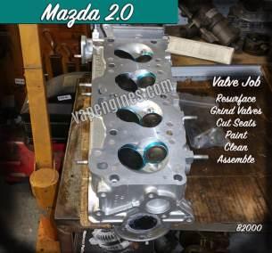 Mazda B2000 2.0 Valve Job