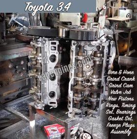Toyota 3.4 5VZFE Engine Rebuild Shop