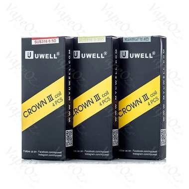 Uwell Crown 3 Coils VapeOz