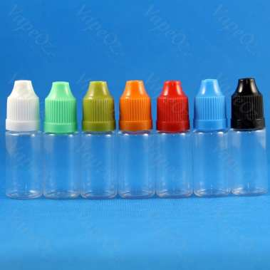 Plastic Bottles Various Sizes VapeOz