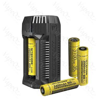 nitecore v2 in car 3a quick charger 1