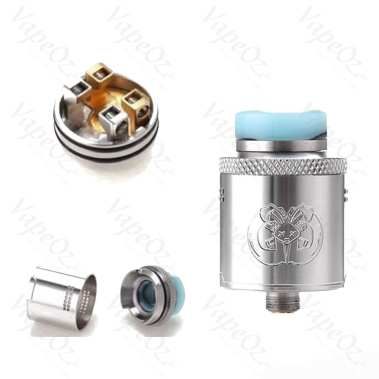 Hellvape Drop Dead RDA 24mm Dual Coils with 14 Side Airflow Holes 810 apart