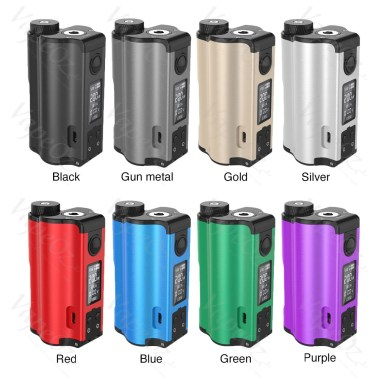 DOVPO Topside Dual W Top Fill Squonk MOD Colours VapeOz