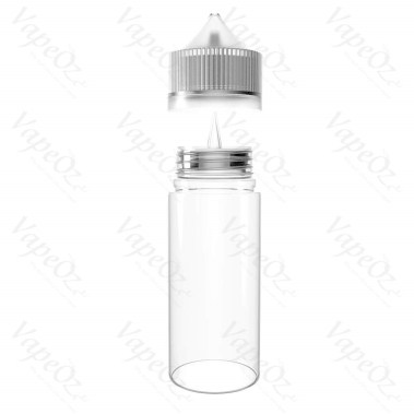 chubby gorilla Bottle Clear ml lid off VapeOz