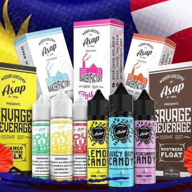 ASAP Ejuice Collecion ml Malaysia VapeOz