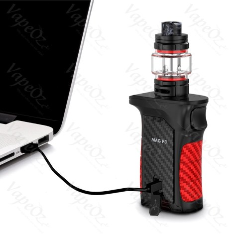SMOK Mag P Kit W with TFV Black Charging VapeOz
