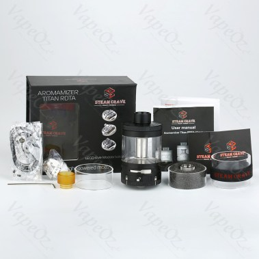 Steam Crave Titan RDTA ml Package VapeOz