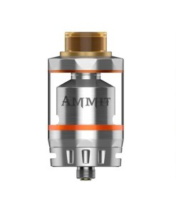 AMMIT DUAL COIL RTA BY GEEKVAPE SILVER