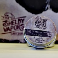 The Shelby Vapors - Half Staggered Mini 0.70 Ohm by Tesla Handcrafted Coils