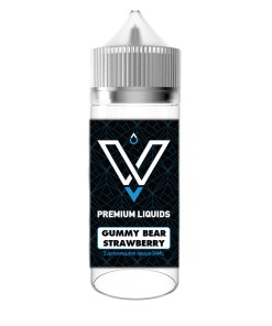 VnV GUMMY BEAR STRAWBERRY 120ML BY VNV LIQUIDS