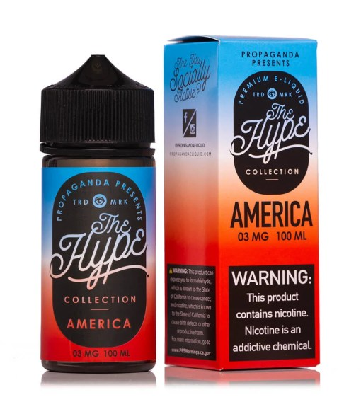 Propaganda The Hype America ejuice