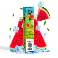 Puff Boss Bar 1500 puff disposable - Watermelon ICE