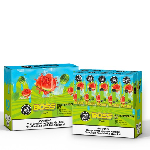 Puff Labs Boss Bar Disposable Watermelon Ice