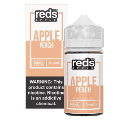 7 daze reds Peach vape juice