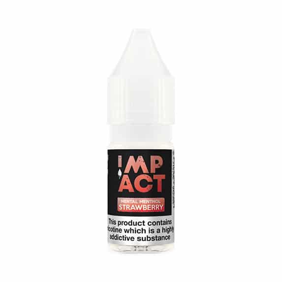 Mental Menthol Strawberry By Impact E-Liquid