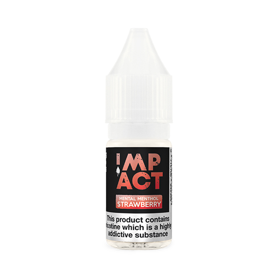 Mental Menthol Strawberry By Impact E-Liquid