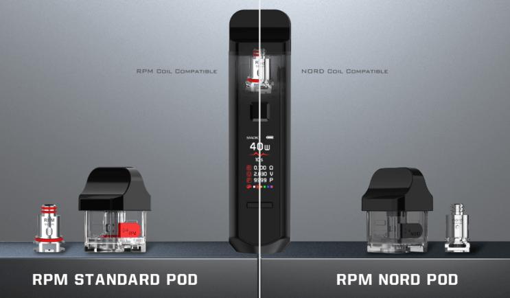 SMOK RPM40 Pod Mod Kit More Coil Options For RPM Pod