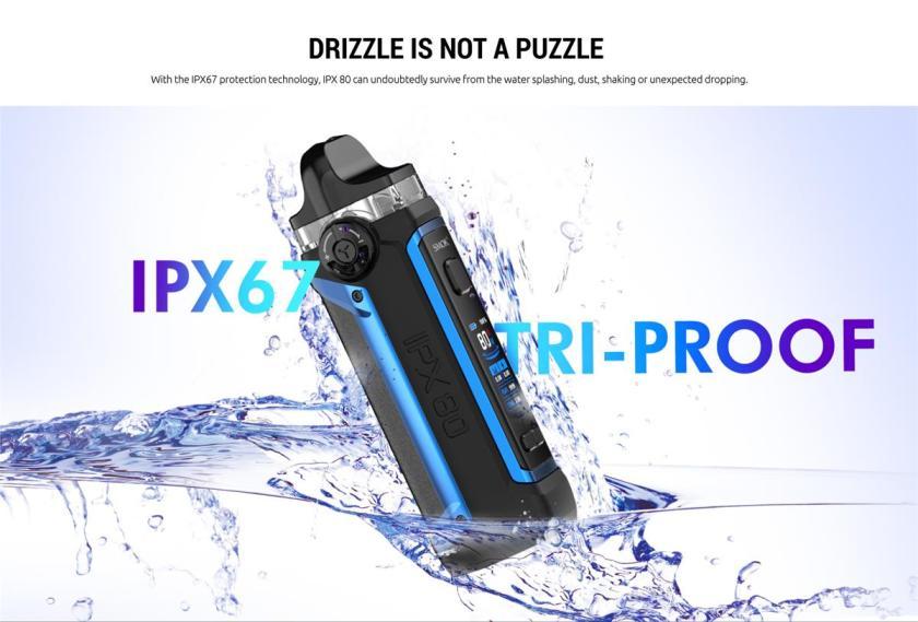 IPX67 Tri-Proof SMOK IPX 80