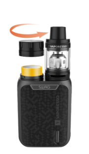 Vaporesso Swag with NRG SE Kit review