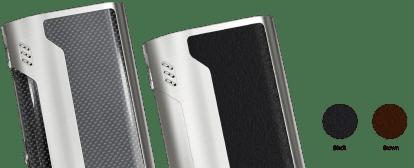 changeable wismec reuleaux rx300 tc box mod-carbon fiber