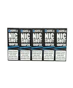 5er Packung Vovan Nikotin Shots 100PG in 20mg