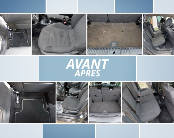 Nettoyage interieur auto