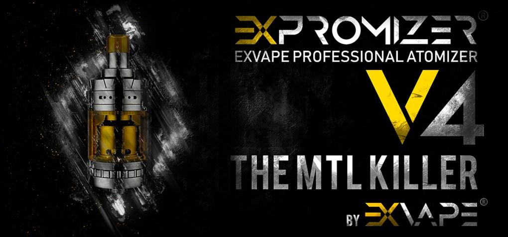 EXPROMIZER V4 mTL RTA 2ML EXVAPE vapexperts 1