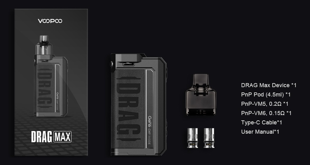 drag max kit 177w by voopoo 7