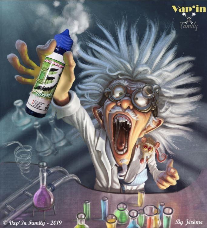 Potion citronée - #Experiment3 - Vap
