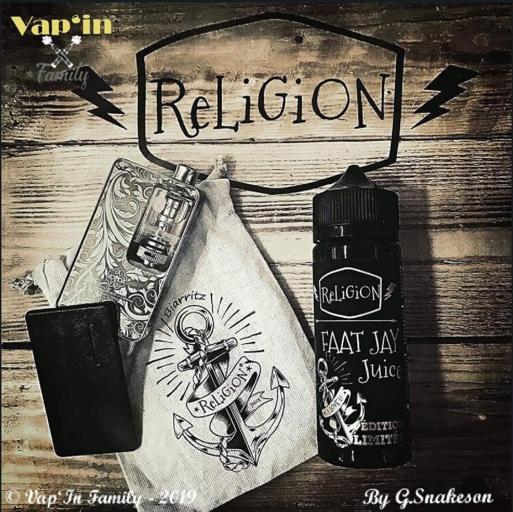 Faat Jay - Édition limitée - Religion Juice - Vap